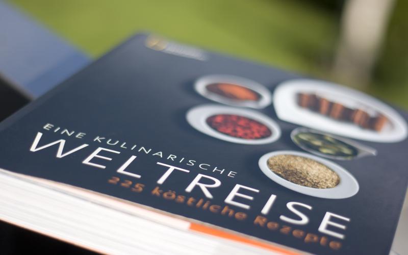 Kochbuch mit Fernweh-Risiko