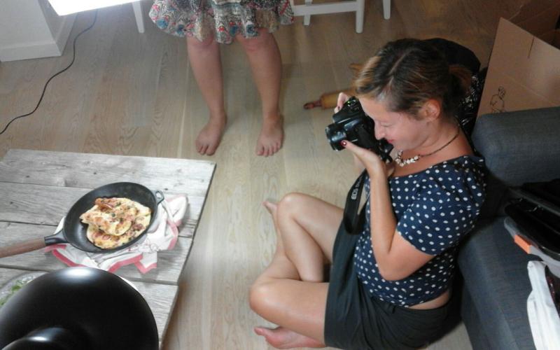 Behind the scenes: Ein Kochbuch, zwei Frauen und ich